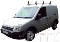 Rhino Delta Roof Bars 2 Bar Steel Roof Rack System Ford ...