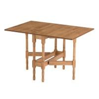 Drop Leaf Table HEATPROOF Folding Dining Kitchen Gateleg ...