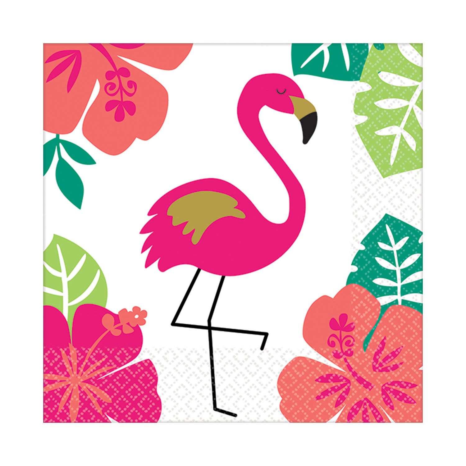 Canape Design Hawaii Details About 16 X Hawaiian Aloha Pink Flamingo Beverage Canape Drinks Napkins Tableware