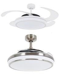 Fanaway EVO 1 LED Remote Folding Blade Ceiling Light Fan ...