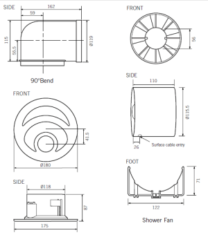 wiring diagram for kitchen extractor fan