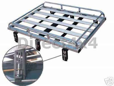 Mitsubishi Delica Aluminium Expedition Roof Rack New Boxed
