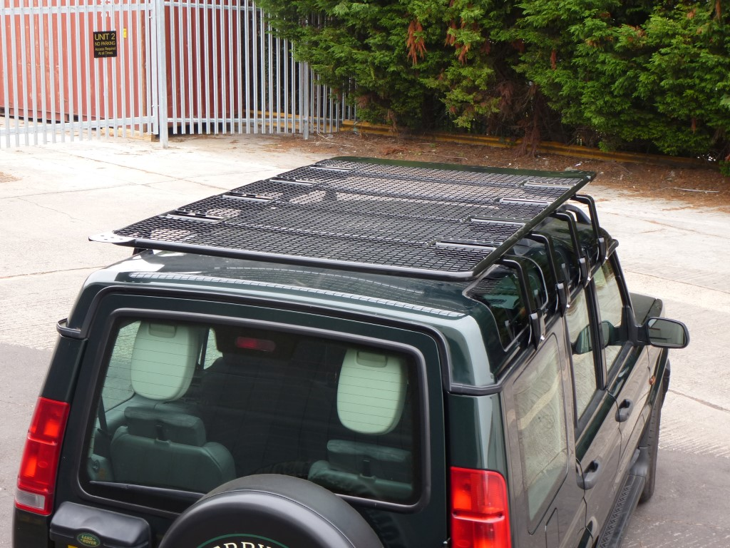 Mitsubishi Delica Fully Welded Steel Flat Roof Rack Roof