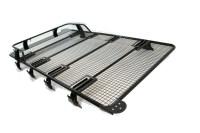 Land Rover Defender Roof Rack Black Powder Coated Steel ...