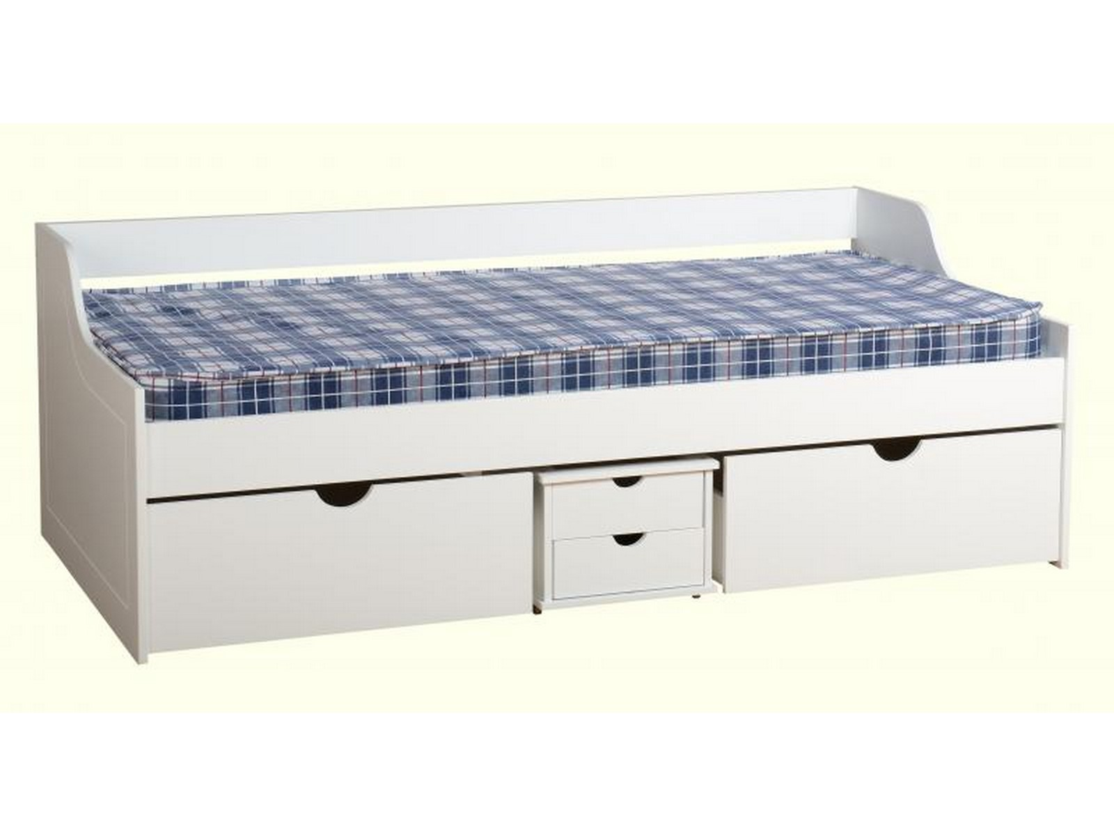 Single Bed With Storage Drawers Seconique Dante Single Daybed With Drawers Under Bed
