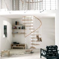 Arke Fontanot Kloe Spiral Staircase | Italian DIY Kit ...