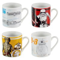 Star Wars Espresso Latte Cups Ceramic Drinking Tea Coffee ...