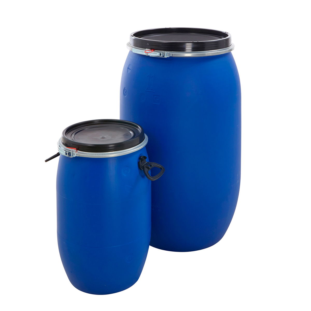 Large Watering Cans For Sale Plastic Drum Keg Oil Storage Bulk Barrel Open Top