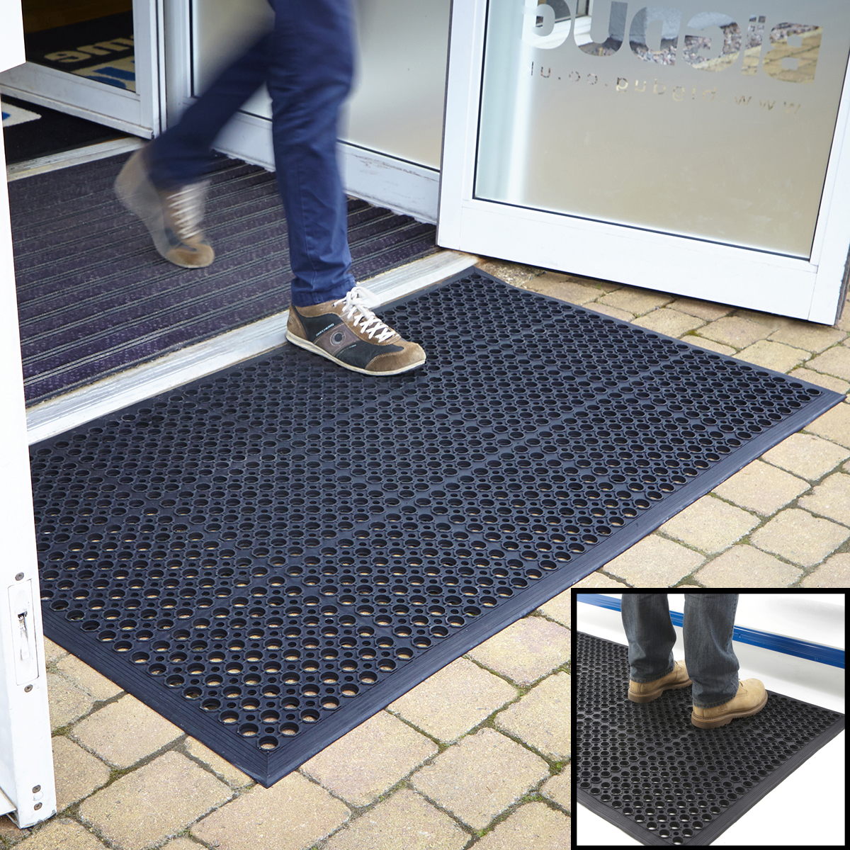 Large Door Mats Outdoor Entrance Mat Outdoor Rubber Indoor Large Door Mats Large