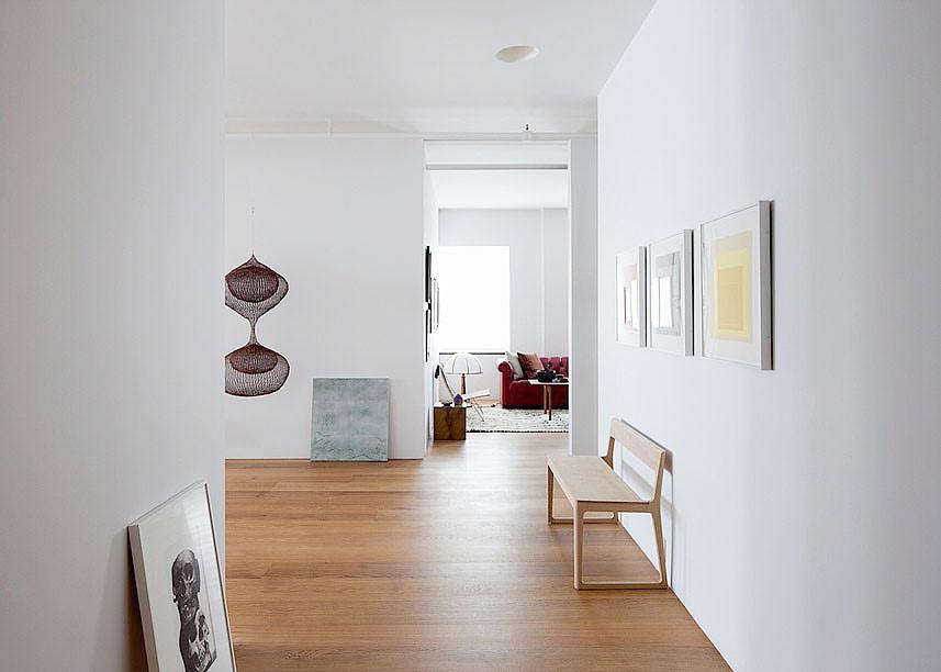 Decoraci n de lofts minimalistas hudson street loft - Decoracion loft pequeno ...