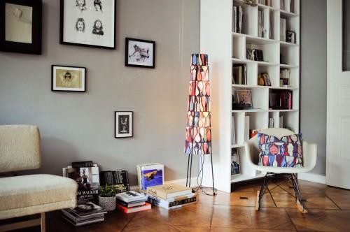 wwwestilosdeco Interior de un departamento con muebles de - muebles de pared