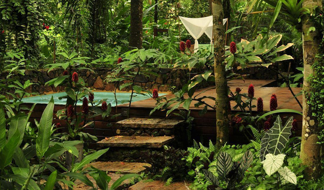 Dise o de exteriores jardines modernos y tropicales for Jardin geometrico