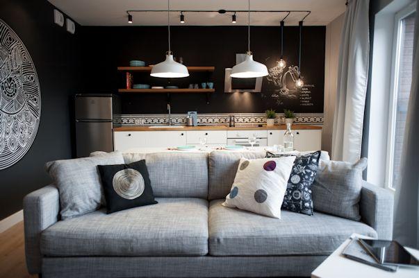 Departamento pequeño y moderno de 2 ambientes 4
