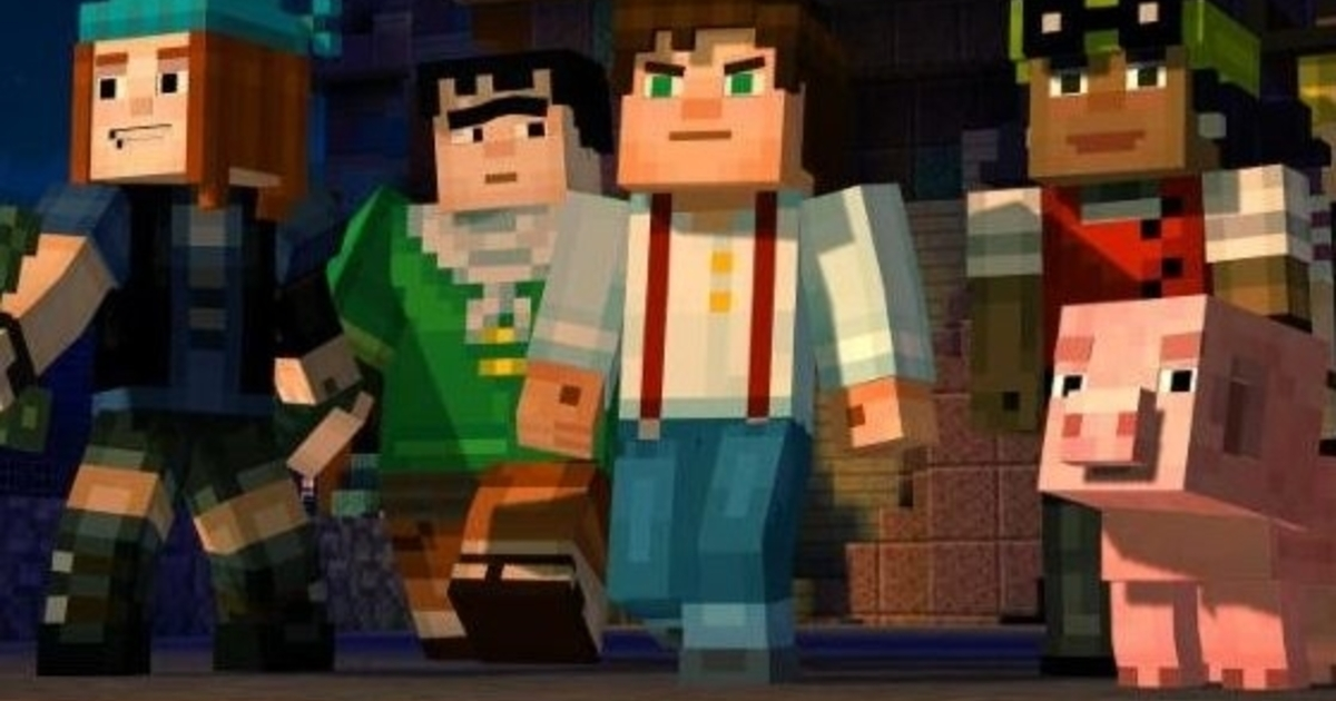 The Walking Dead Iphone Wallpaper Hd Telltale S Minecraft Story Mode Unveiled Stars Patton