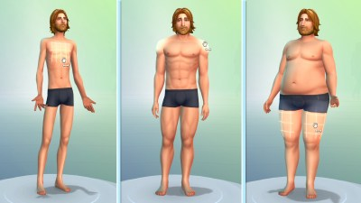 Skinny hipster or chubby hubby? Sims 4's new easy-to-use tools lets ...