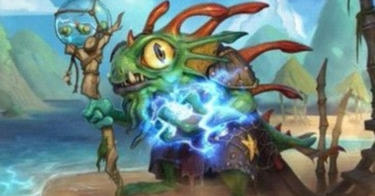 Best Animation Wallpaper For Android Hearthstone Has A New Murloc Hero But You Ll Need Friends