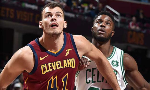 Ante Zizic With 20 Points Against The Celtics Eurohoops