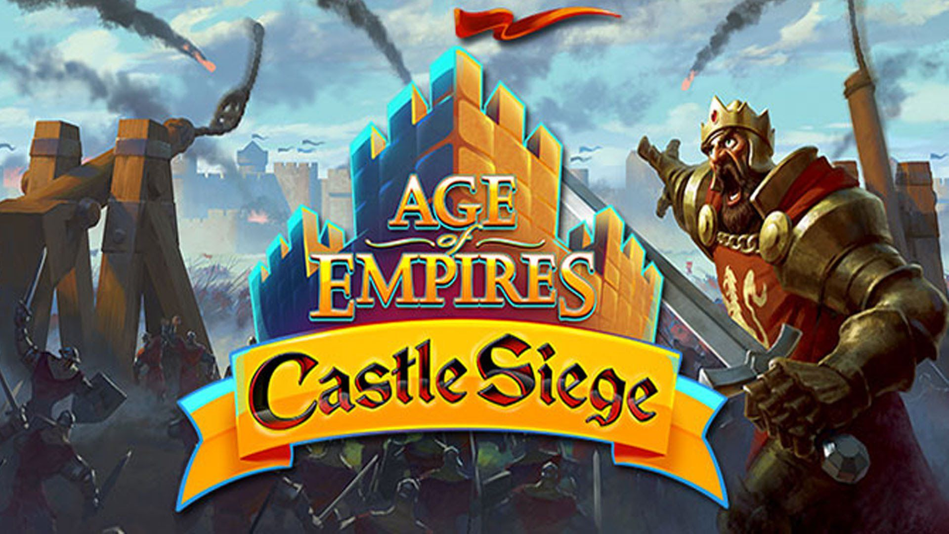Hd Live Wallpaper For Tablet Age Of Empires Castle Siege Disponibile Su Android