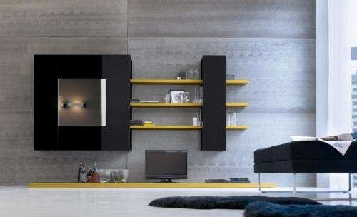 These modern media cabinets by Bo Concept will store your