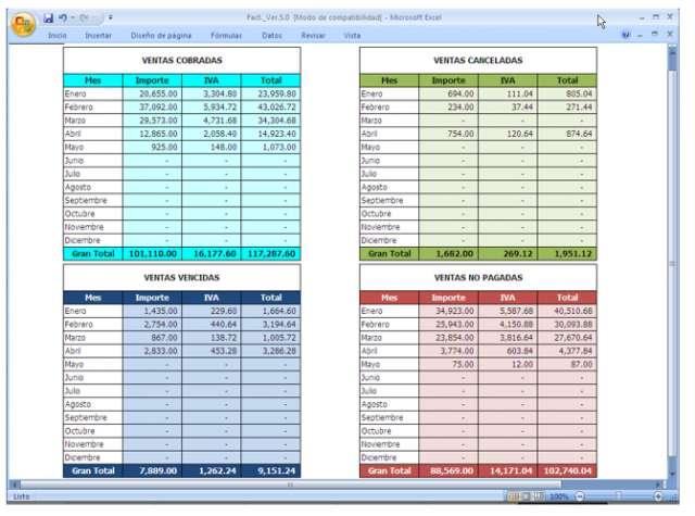 Formato Inventario En Excel colbroco