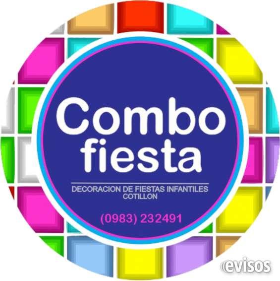 Combo fiesta planificador de eventos en Asunción - Otros Servicios