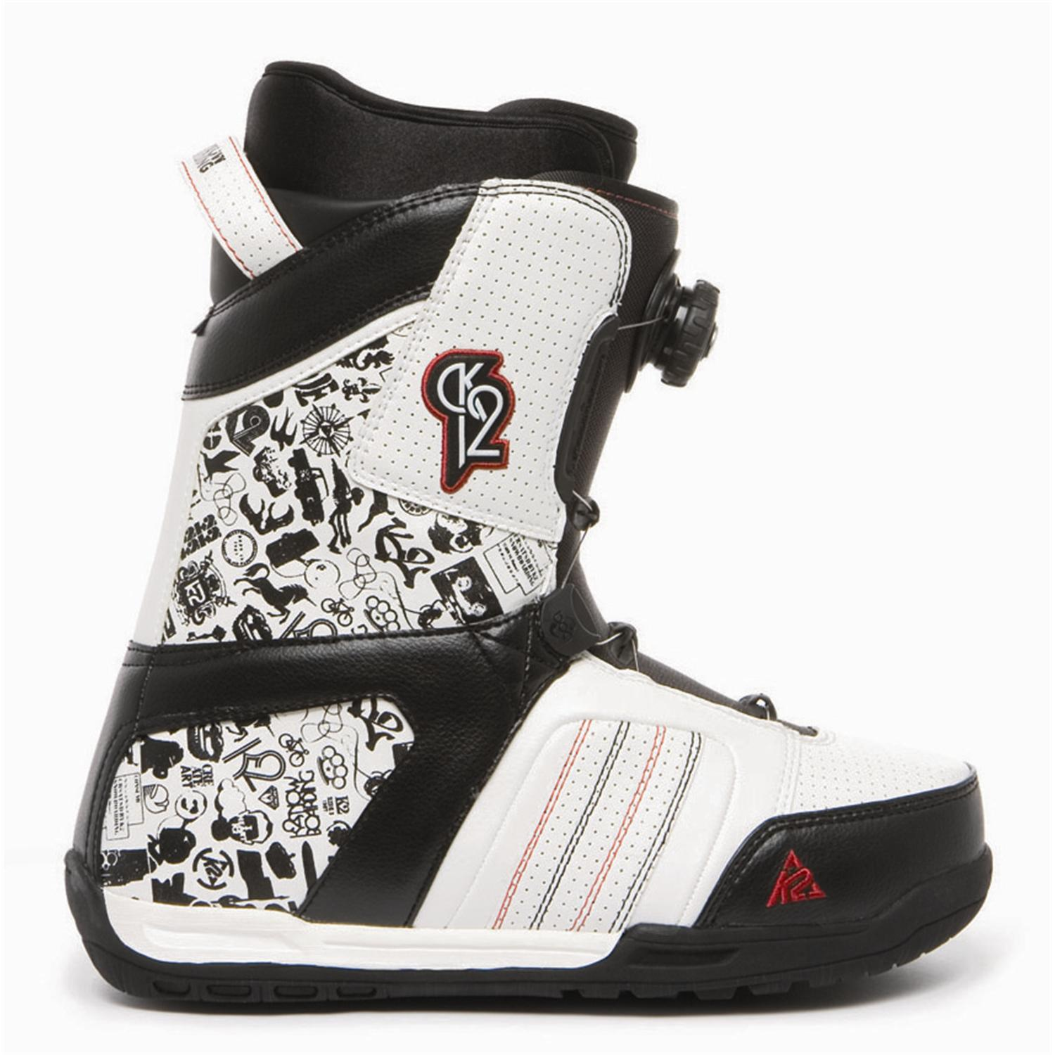 Snowboard Bank K2 Transit Boa Snowboard Boots 2009 Evo Outlet