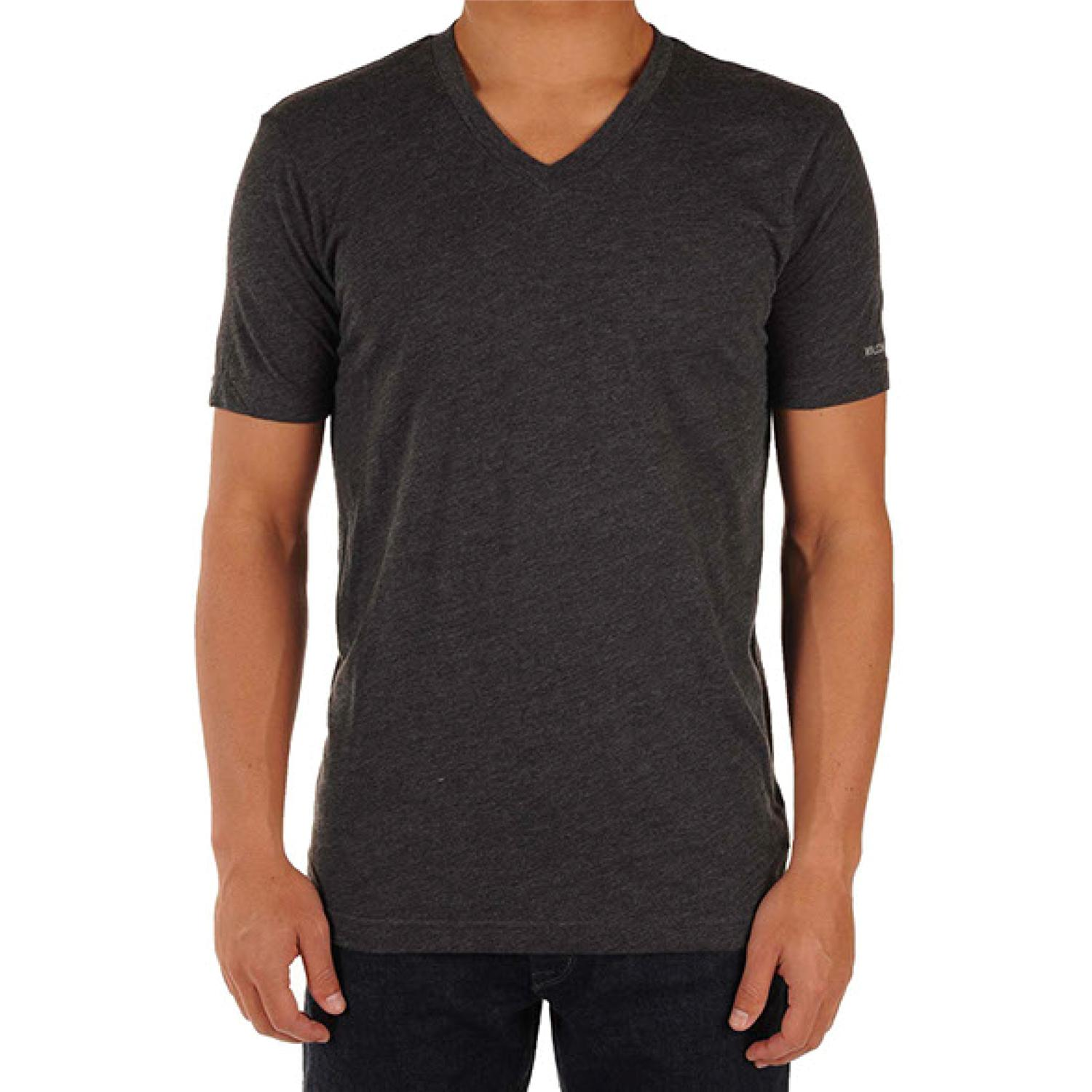 V Neck T Shirt Volcom Solid Heather Too V Neck T Shirt | Evo Outlet