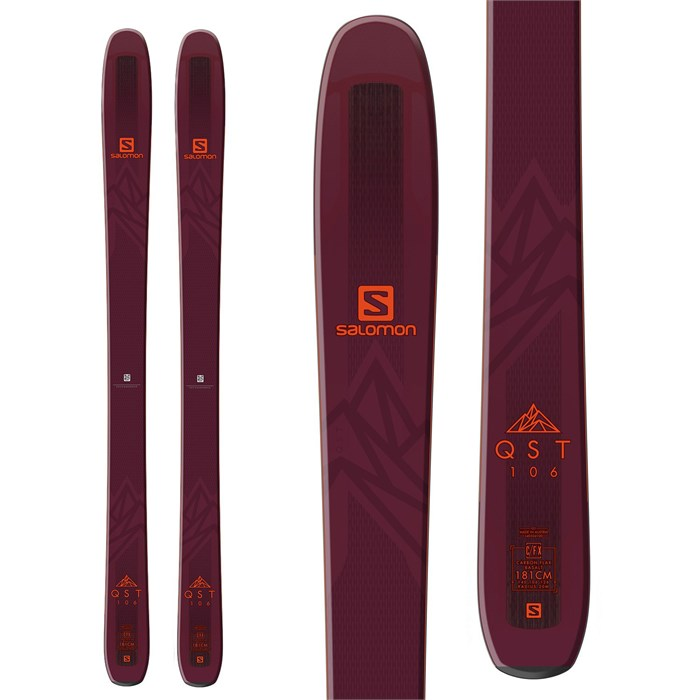 Salomon QST 106 Skis 2019 evo