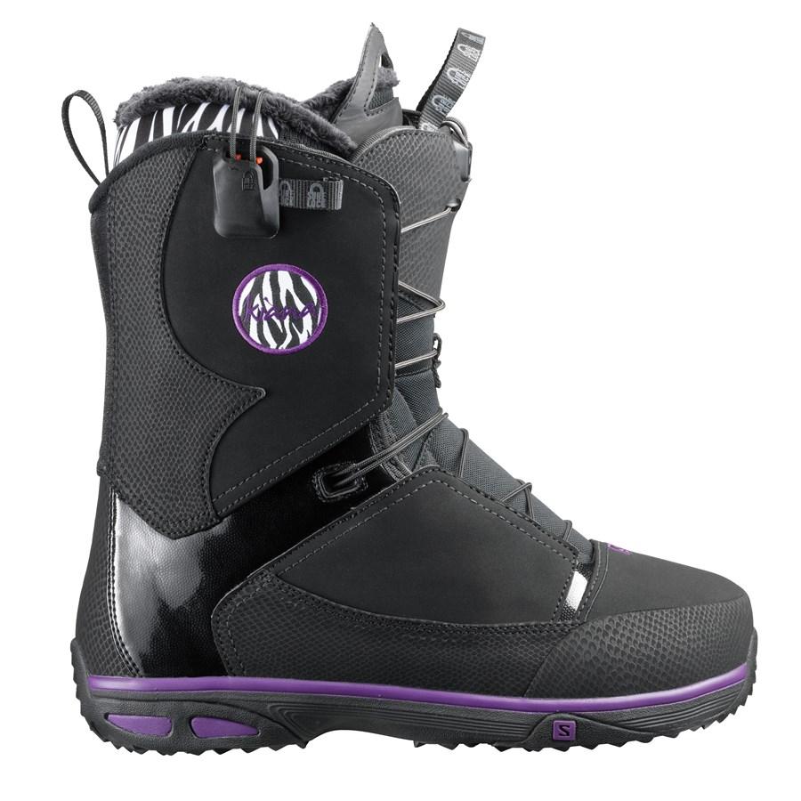 Salomon Kiana Snowboard Boots Women39s 2014 Evo Outlet