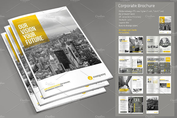 41+ Real Estate Brochure Designs  Examples - PSD, AI, Vector EPS - property brochure