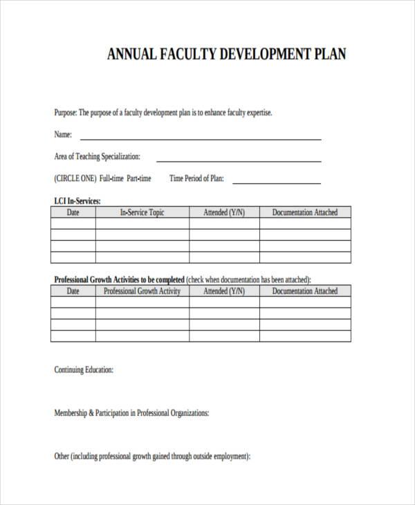 55+ Examples of Development Plans - development proposal sample