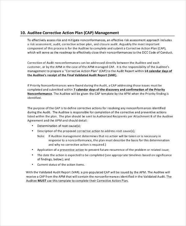 Top Result 60 Elegant Preventive Action Plan Template Image 2017