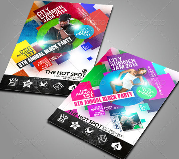 62+ Party Flyer Designs  Examples - PSD, AI, EPS Vector - party brochure template