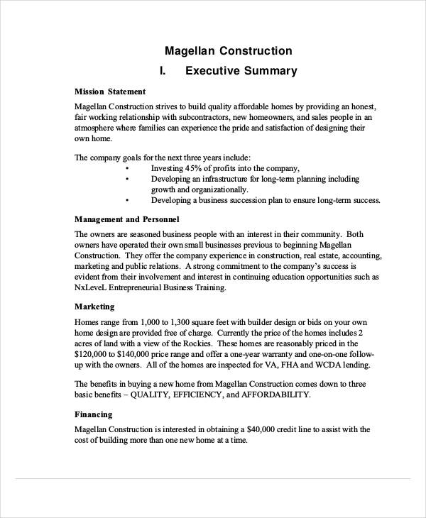 43+ Business Proposal Examples  Samples - PDF, DOC