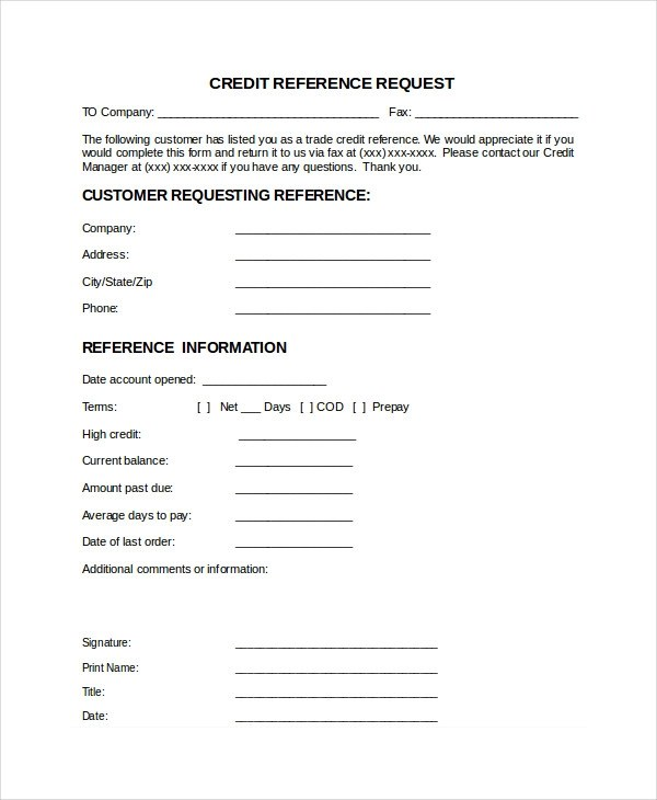 Business references template gildthelilyco – Reference Check Template
