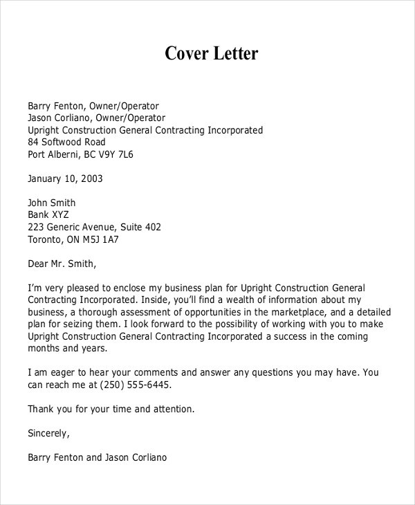 21+ Business Proposal Letter Examples - PDF, DOC - proposal latter