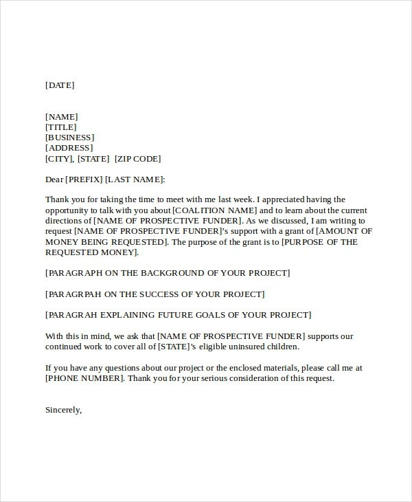 21+ Business Proposal Letter Examples - PDF, DOC - Proposal Letter For Project