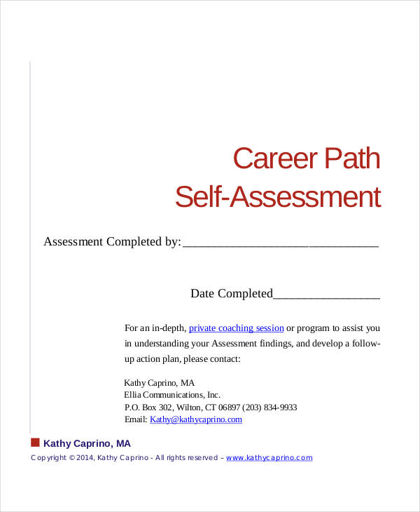17+ Career Assessments Examples  Samples - how to plan your career path