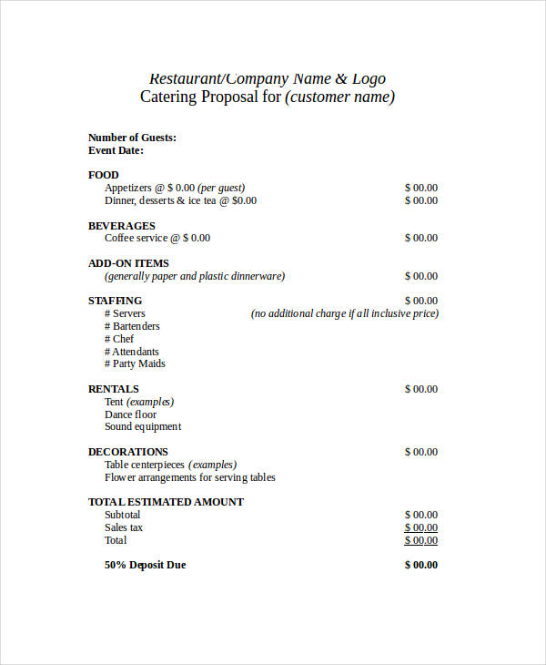 39+ Business Proposal Examples  Samples - PDF, DOC