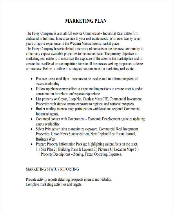 39+ Marketing Plan Examples  Samples