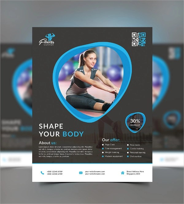 26+ Examples of Fitness Flyer Designs - PSD, AI, Vector EPS - fitness flyer