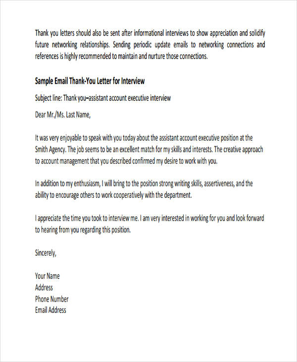 Thank You Letter Examples Thankyou Letter Examples - Cover And - thank you email after job offer