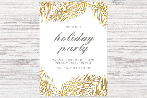 52+ Party Invitation Designs  Examples - PSD, AI, EPS Vector