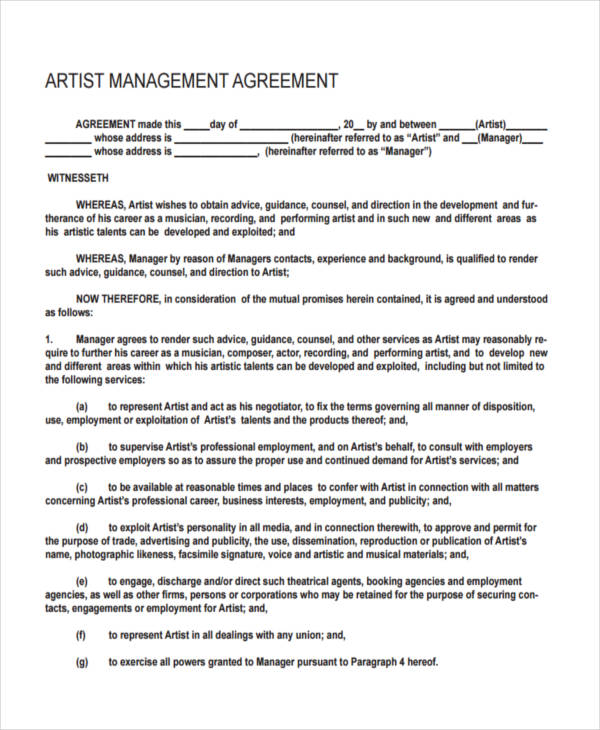 Songwriter And Composer Forms Legal Forms And Business - sample artist contract template