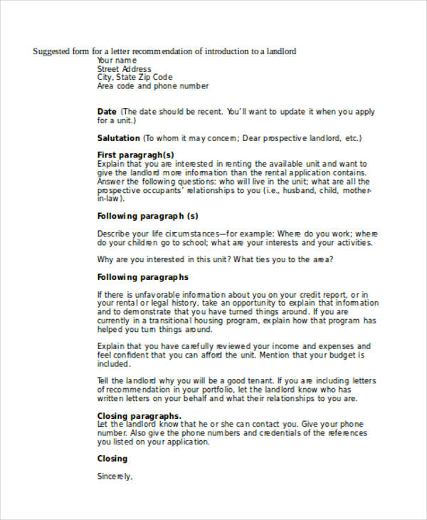 79+ Examples of Recommendation Letters - generic letter of recommendation