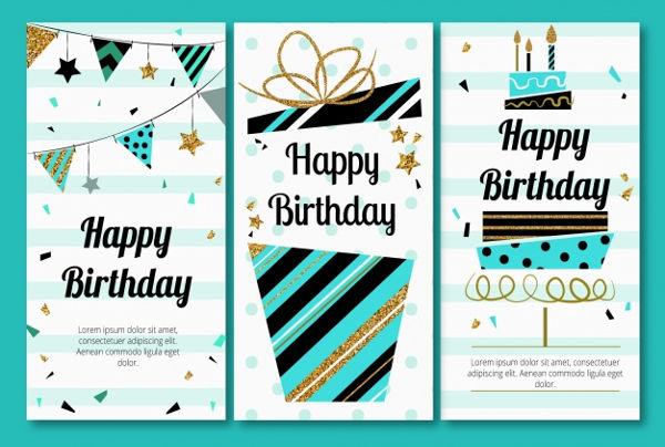 40+ Birthday Card Designs  Examples - PSD, AI, Vector EPS Examples