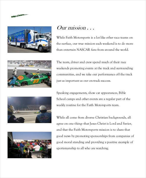 30+ Sponsorship Proposal Examples, Samples - free racing sponsorship proposal template