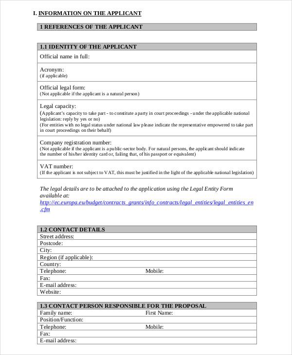 Grant Application Grant Application Form Riley Fore Ha Moshebi - sample grant applications