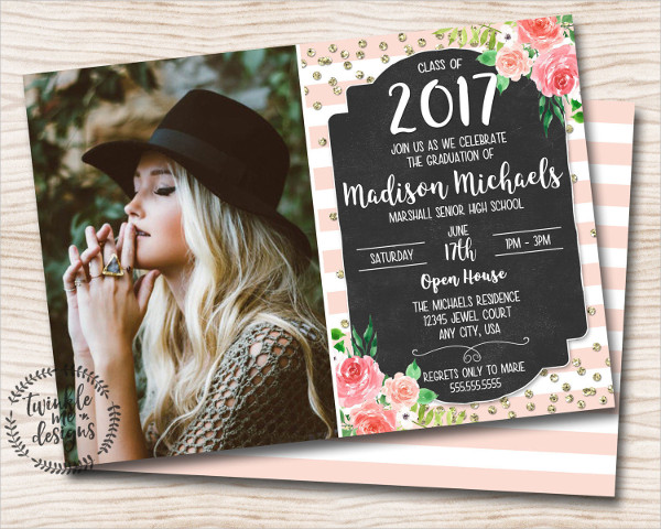 formal graduation invites