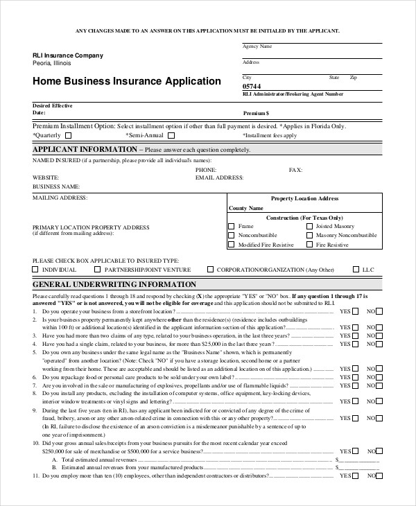 sample credit application for small business